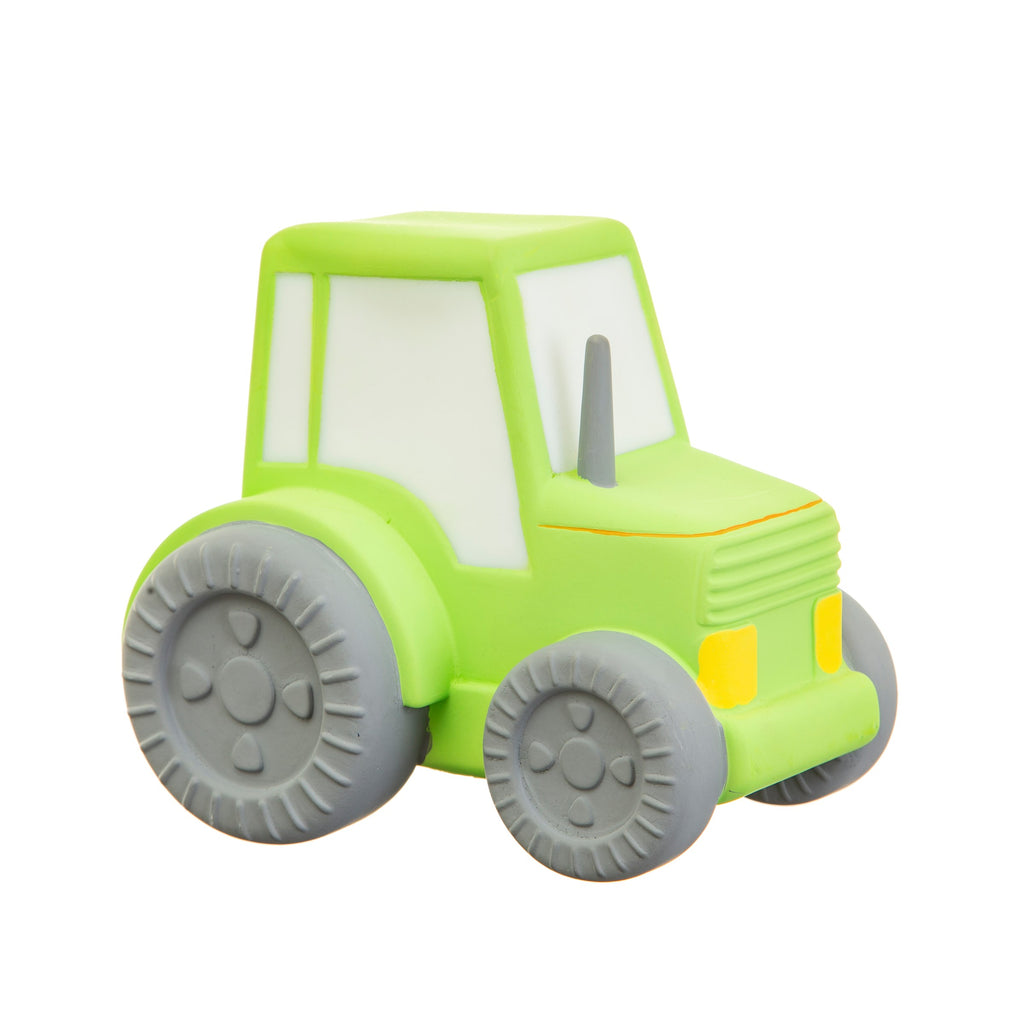Childrens Green Tractor Rubber Night Light