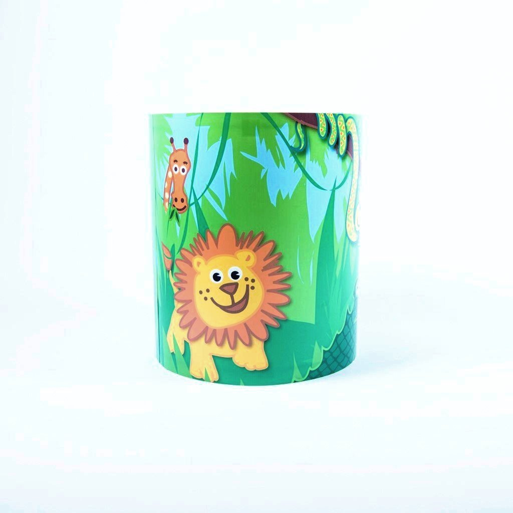 children's jungle lightshade