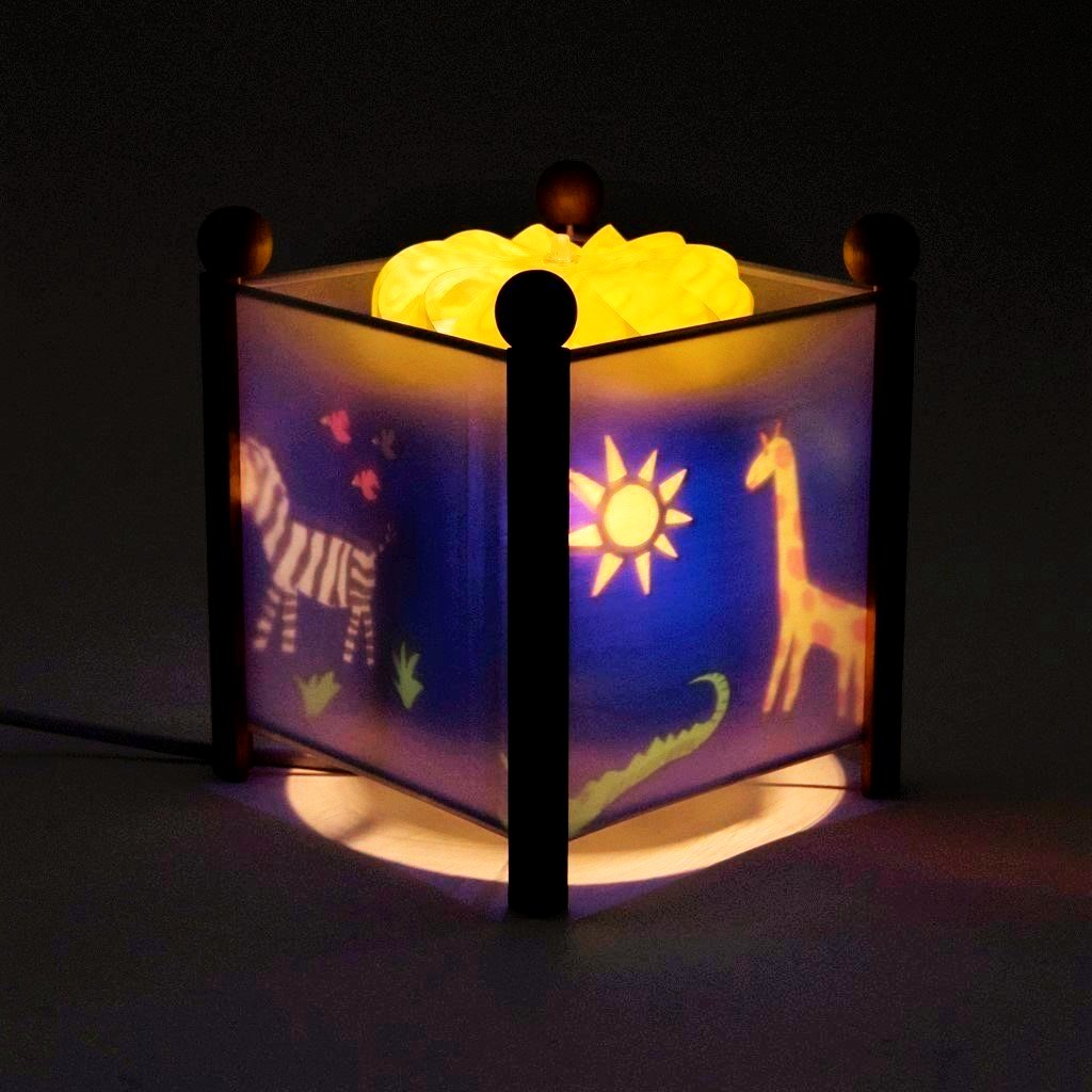 children's jungle nightlight