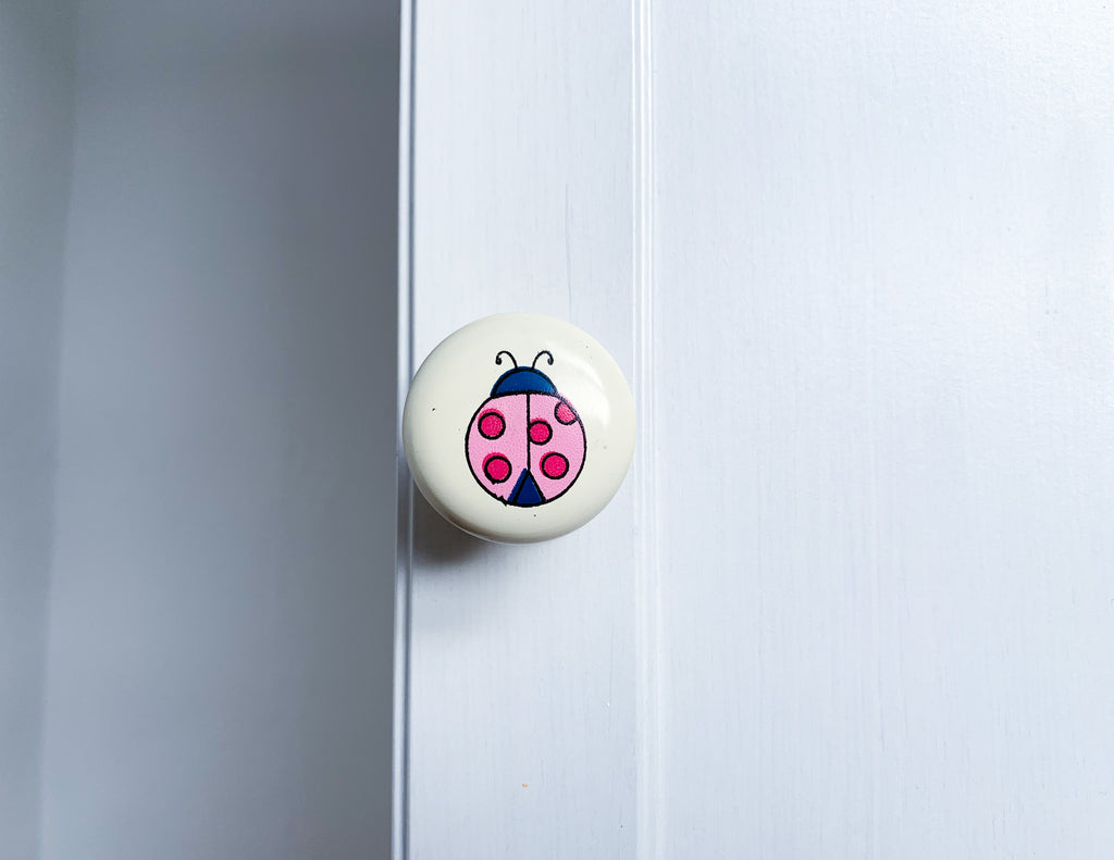 Ladybird Door / Drawer Knob