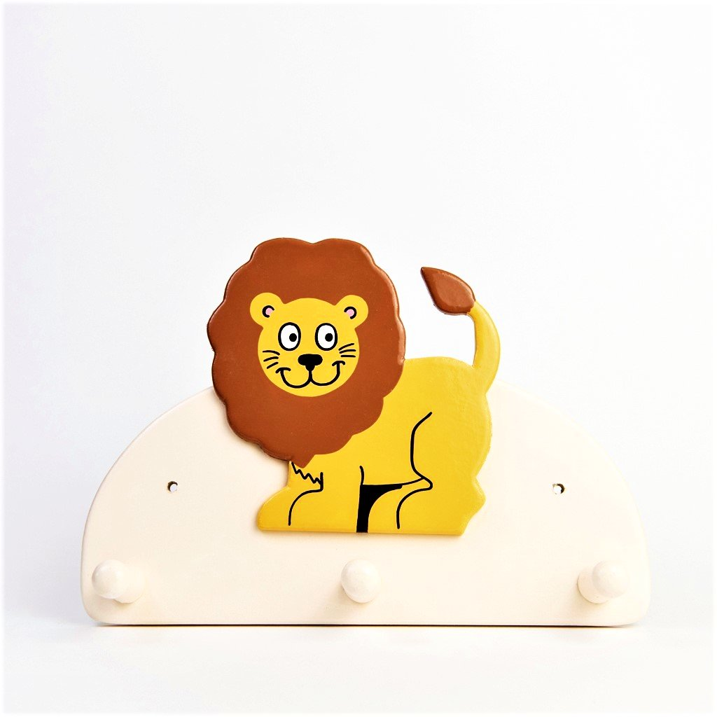 children's lion coat wall hook