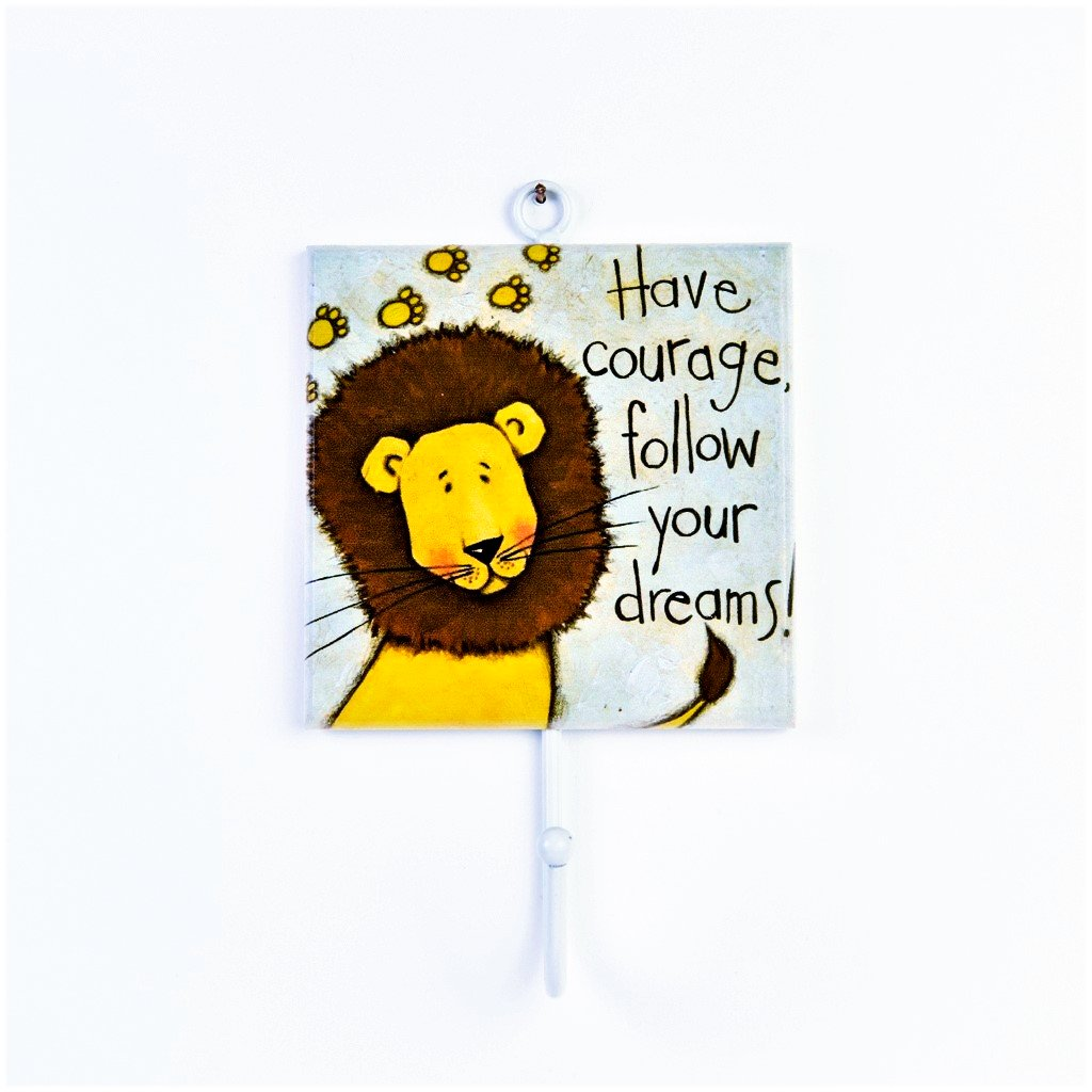 children's lion coat hook