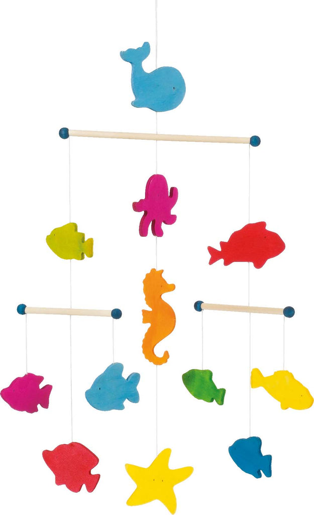 children's ocean creatures hanging mobile