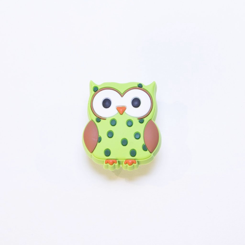 children's woodland owl door knob