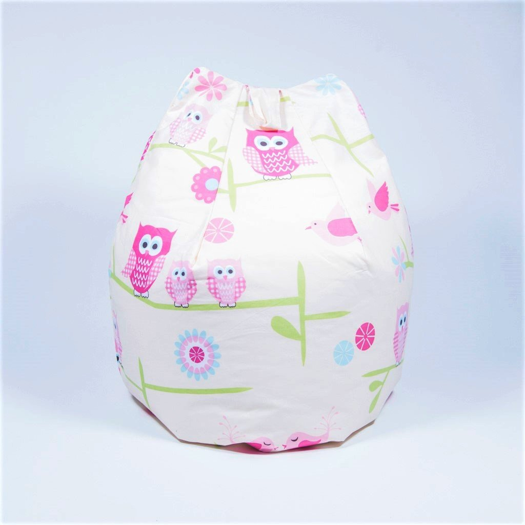woodland owl bean bag