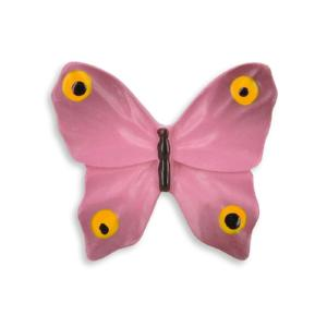 childrens pink butterfly door knob
