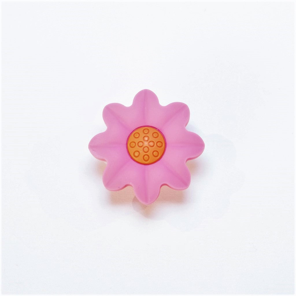 children's pink flower door knob
