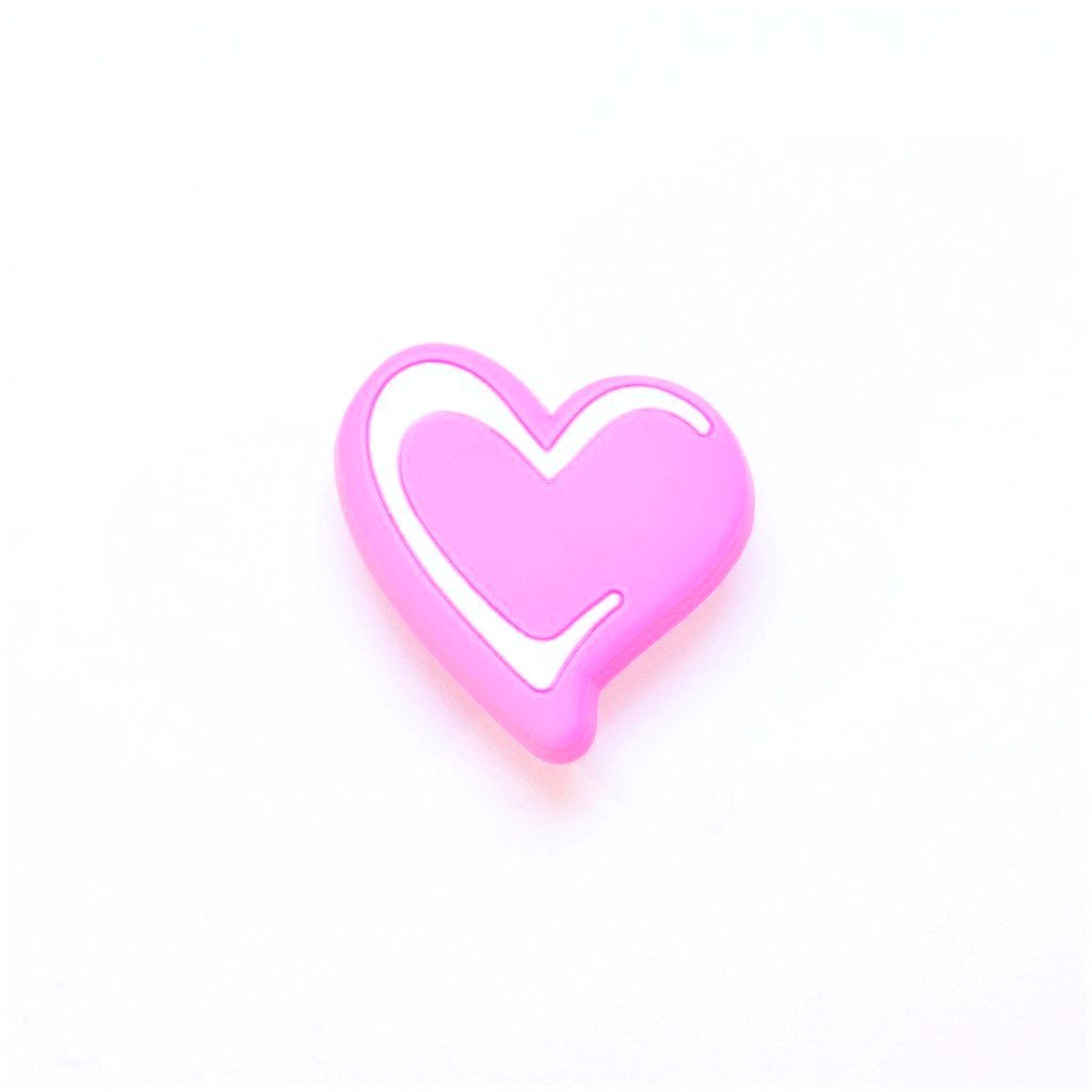 children's pink heart door knobs