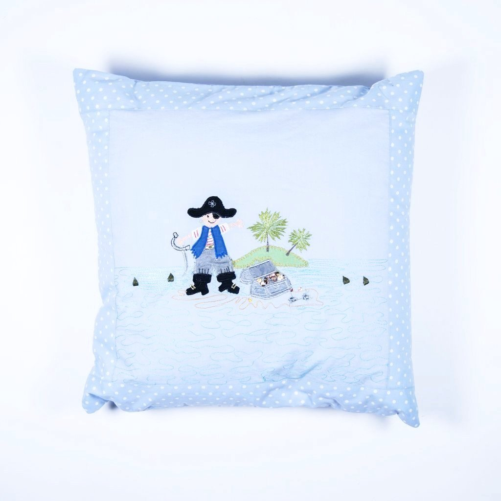 children's pirate cushion