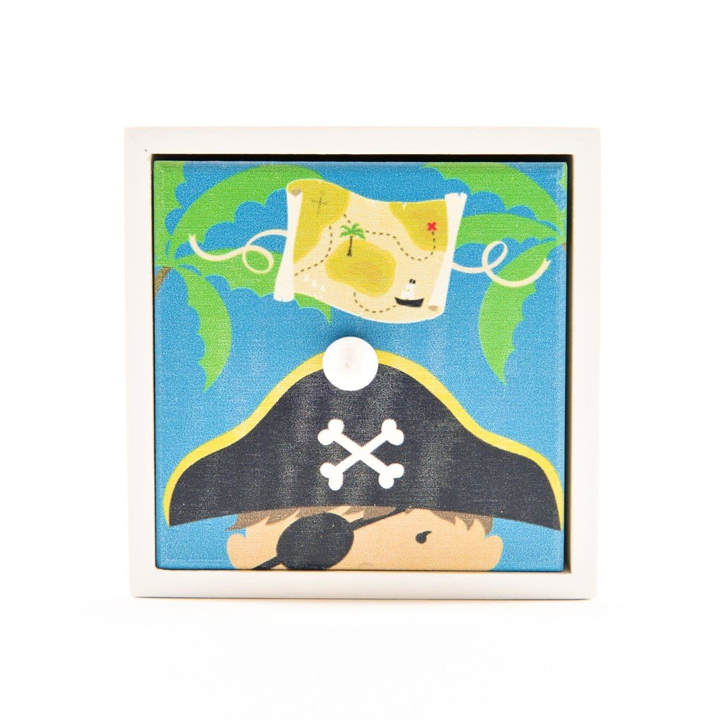 children's pirate storage cube
