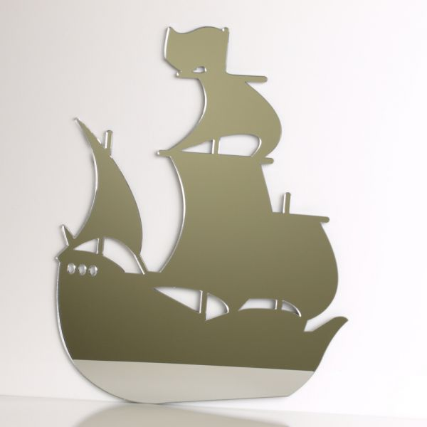childrens pirate ship mirror