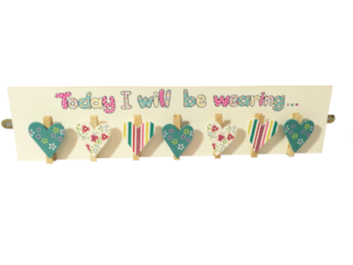 pretty hearts patchwork pegboard