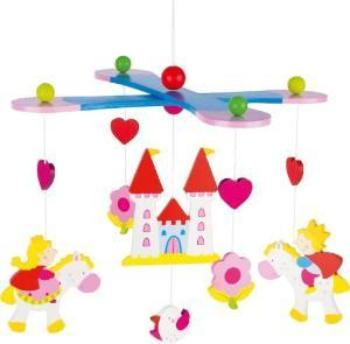 children's' prince and princess hanging mobile
