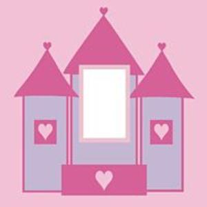 childrnens princess castle light switch cover