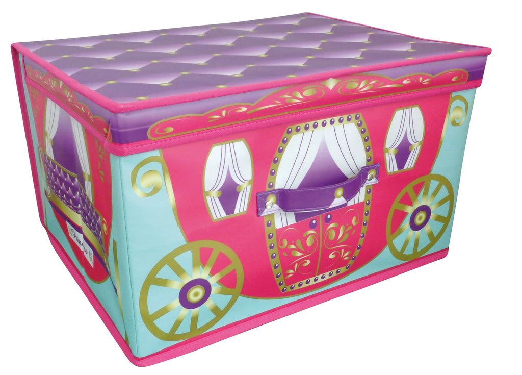 childrens princess carriage storage box