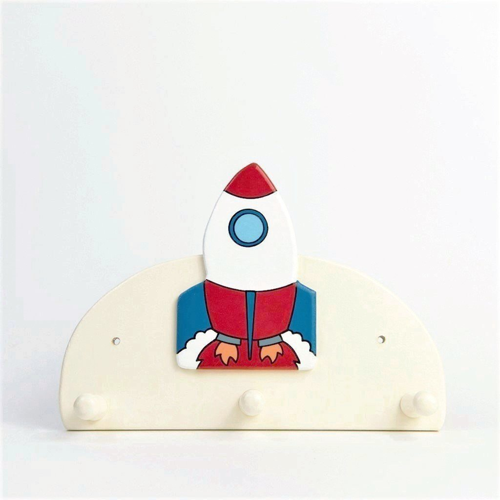 children's rocket coat hook