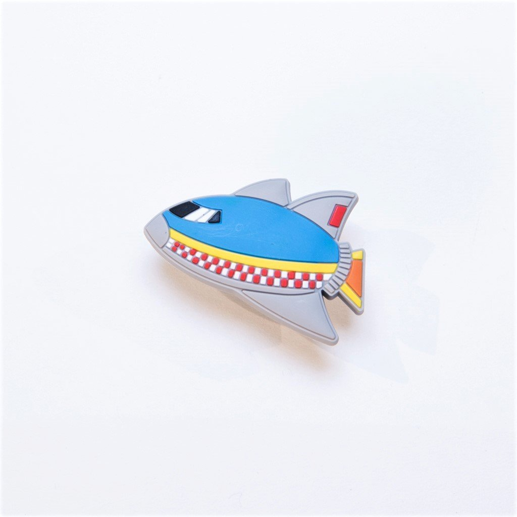 children's rocket ship door knob