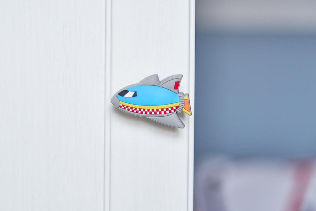 Rocket Ship Door Knob