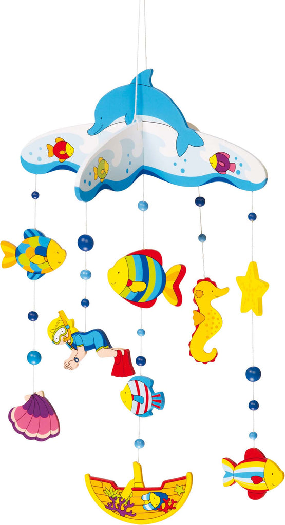 children's sealife hanging mobile