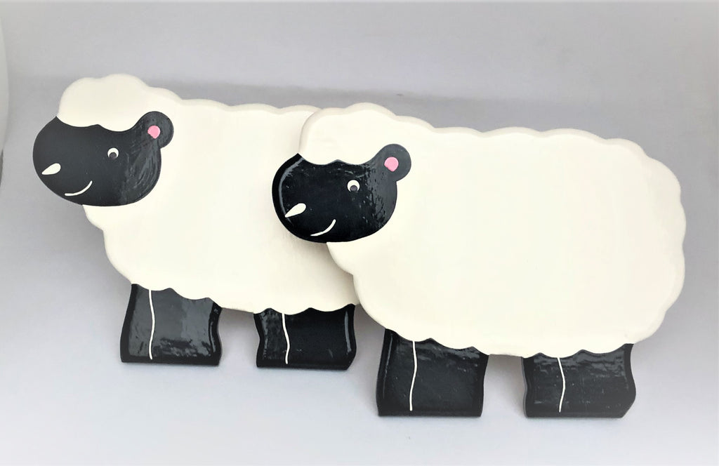 Sheep Curtain Tie Backs