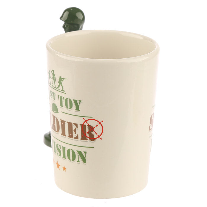 childrens arm soldier cup / mug