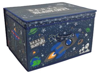 childrens outer space storage box