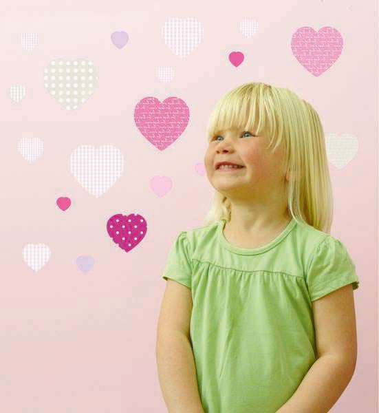 childrens sweetheart wall stickers