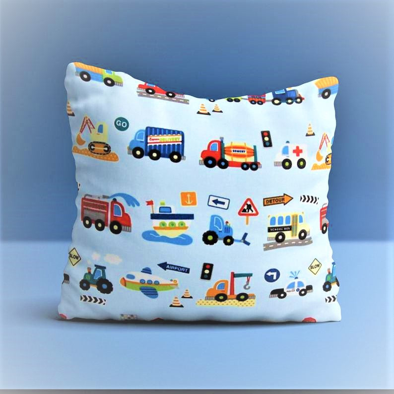 Traffic Themed Cushion