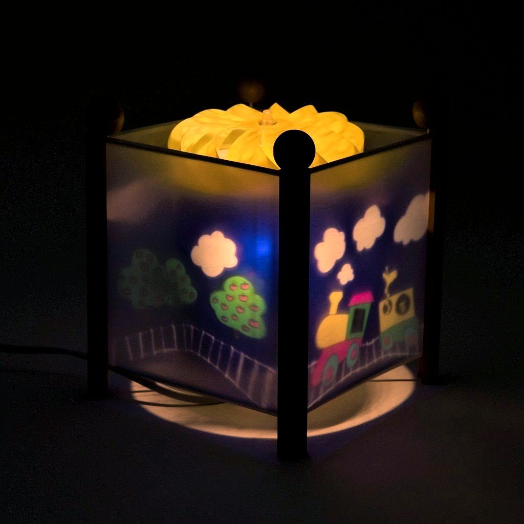 childrens bedroom train nightlight