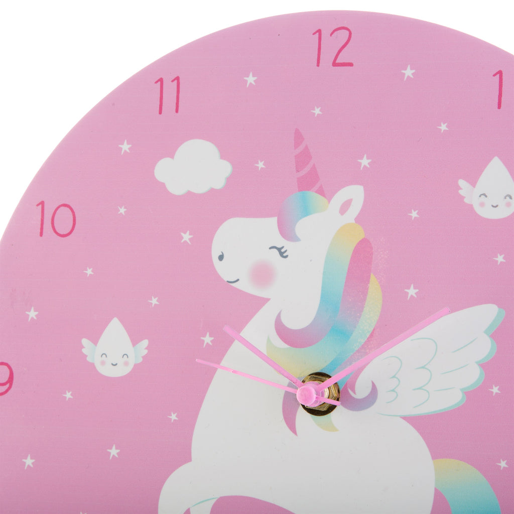 childrens unicorn clock