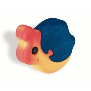 children's wooden snail door knob