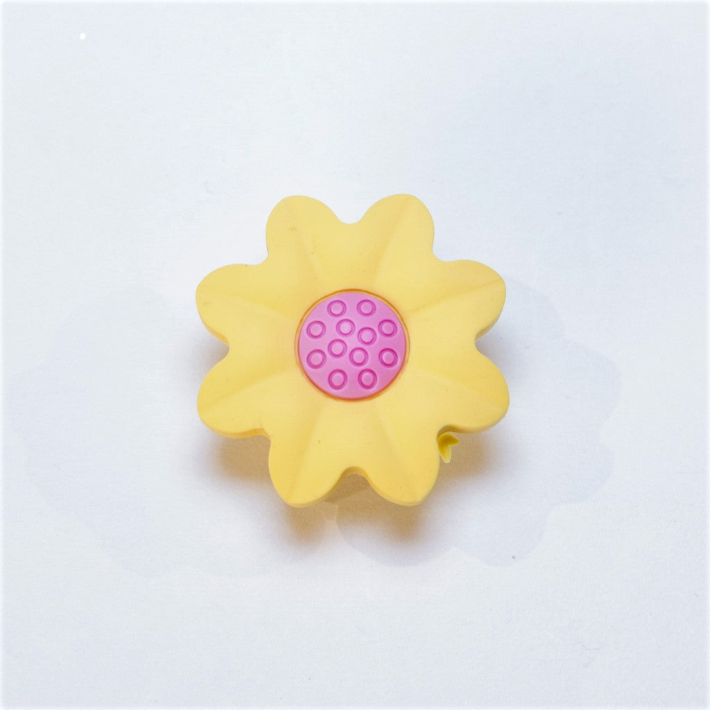 children's yellow sunflower door knob