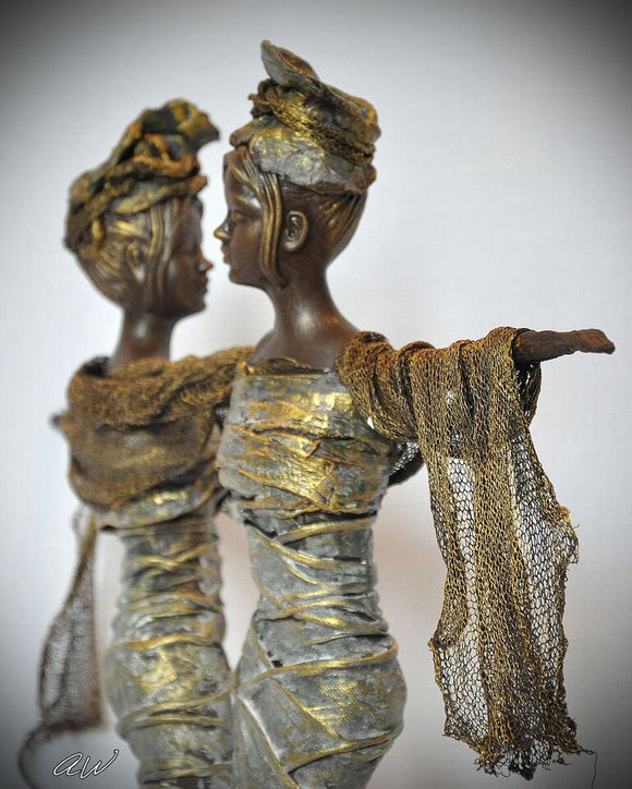 Figurines by Brigitte Grade - Owner of Powertex International