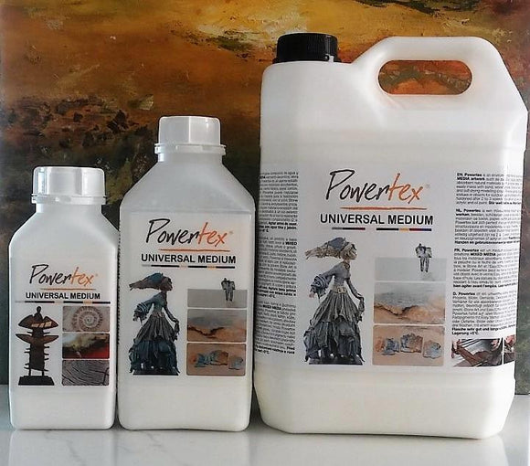 Powertexcreations is distributor of Powertex textile hardener in the United States. Powertex is designed as a fabric hardener but has meanwhile developed into a true trendsetter for Fiber Art, Mixed Media and Sculpting.