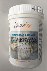 Powertexcreations is the online art supply store for Mixed Media. Our newest product is Powerwax, which is a cold water based wax that doesn't smell or irritate the eyes.