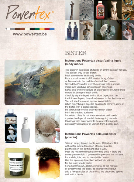 Easy 3Dflex is a must have art material for Mixed Media Artists. In combination with Powertex one can create the most amazing effects.