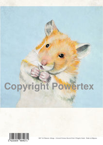 Hamster - Animal Design for Powerprint