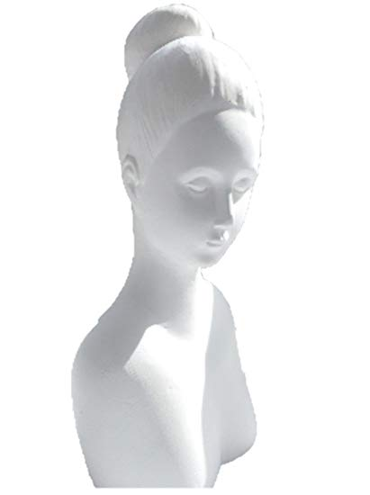 Plaster figure Carmen for Powertex