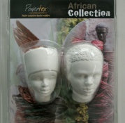 Duo Plaster heads - Powertex
