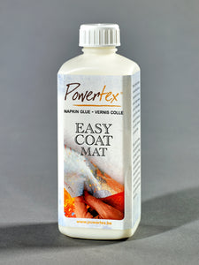 Powertexcreations - Easycoat Mat 250ml - decoupage glue