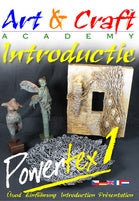 Powertexcreations -Learn how to work with Powertex and Stone art, to create figurines - double DVD