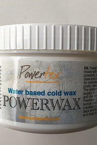 Powertex Powerwax - Cold wax 250gr. Is a waterbased cold wax that doesn't irritate the eyes (what bee wax does)or doesn't smell .