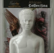 Plaster torso for sculptures - Powertex. Perfect base to create your own sculpture.