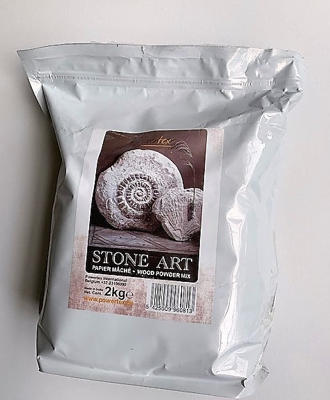 Stone Art 2kg - Wood powder mix