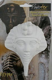 "Plaster Tutankhamen 4 3/4"" - for sale"