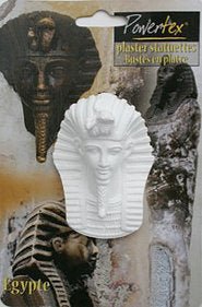"Plaster Tutankhamen 3 1/2"" - for sale"