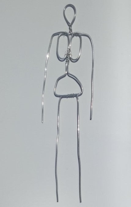 Wire armature for figurines 15