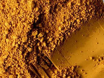 Powertexcreations -  Powder color pigment Yellow Ochre