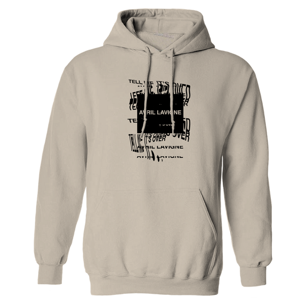 Tell Me It's Over Pullover Hooded Sweatshirt
