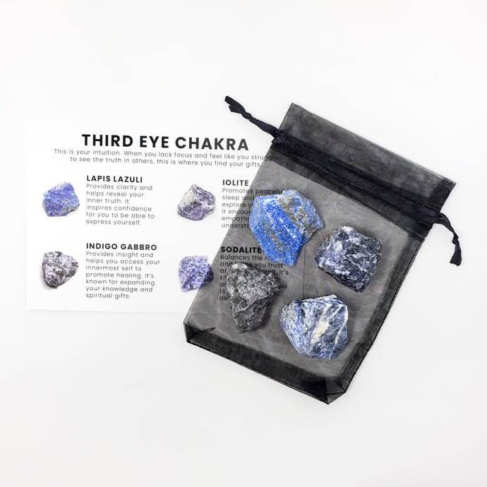 Third Eye Chakra Crystal Set